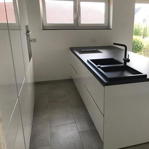 moderner-Küchenblock